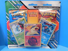 Pokemon Cards  Promo Booster Pack coin Foil  Meganium Feraligatr Typlosion New!