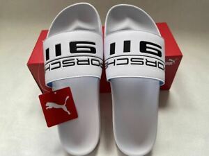 Puma Porsche Leadcat Slide US13 New with Tags Beach Poolside Gym FTR Sandals