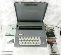Smith Corona SL575 Portable Electric Typewriter w/Cover Spell Right Manuals