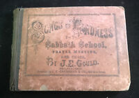 1869 Songs of Gladness for the Sabbath School by J.E. Gould
