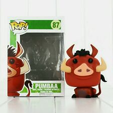 THE LION KING/ FUNKO POP PUMBAA #87-  VINYL FIGURE IN BOX