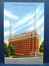 Postcard PA Greensburg Penn Albert Hotel