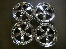 KAOTIK Rims 19x8 5x120mm 72.6+34 Offset Chrome Plate NEW IN BOX. For Land Rover.