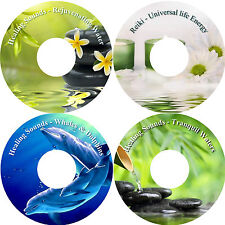 Healing Natural Sounds of Nature & Reiki 4 CD Relaxation Stress Relief Sleep Aid