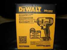 "Dewalt DCF880B 20V Cordless 1/2"" Impact Wrench Detent Pin MAX NEW IN BOX"