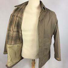 Vintage Wool Blend Lined Woolrich Mountain Parka Coat Jacket 70s 80s M USA Khaki