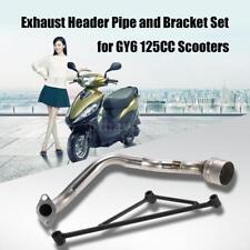 Exhaust Pipe Muffler Header Kit For Honda 125 For GY6 122CC Quad Dirt Bike ATV