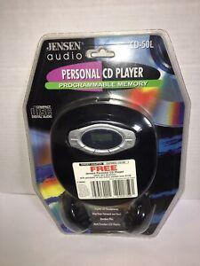 Jensen Audio Personal CD Player CD-50L Programmable Memory