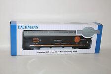 BNIB BACHMANN KCS 286174 Premium HO Guage Silver Series Rolling Rock Model Train
