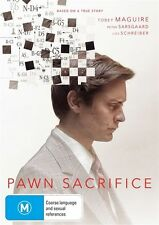 Pawn Sacrifice (DVD, 2016)