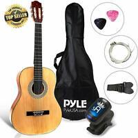 "Beginner 36"" Classical Acoustic Guitar - 6 String Junior Linden Wood"