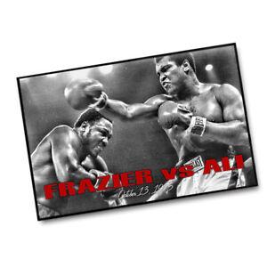 Joe Frazier vs Muhammad Ali Oct 13,1975 Boxing 11x17 Poster