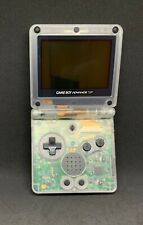 Game Boy Advance SP AGS-101 Clear Handheld System, With Charger RARE