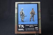 ZA594 VERLINDEN PRODUCTIONS GERMAN ASSAULT TROOPS WWII Ref 603 1/35 NB