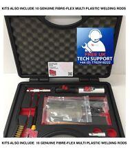 Bumper Repair Kit - Plastic Welder - Plastic Welding Kit  - Inc FIBERFLEX RODS