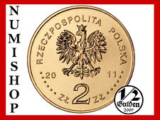 POLAND COMPLETE SET OF 21 COINS 2 ZLOTYCH 2011 NORDIC GOLD POLISH UNCIRCULATED