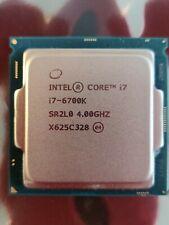 Intel SR2L0 Core i7-6700K Quad Core 4.00GHz L3 Cache Socket LGA1151 Processor