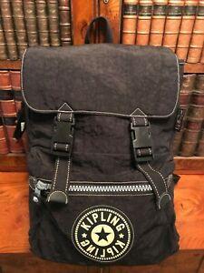 Large Black Kipling Backpack with Laptop Section