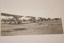 AFRIQUE PHOTO AVIONS TERRAIN D'AVIATION 1930  (MD203)