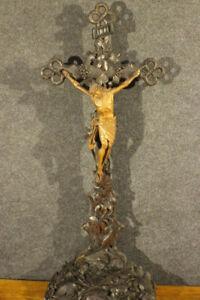 Hausaltar Versehgarnitur Kreuz Kruzifix sakral House altar INRI *2688