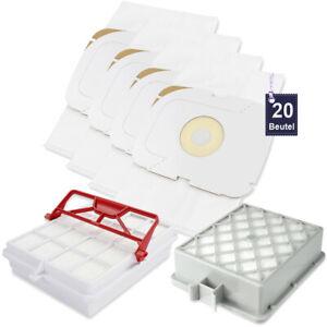 20 Staubsaugerbeutel passend für Lux Intelligence, Lux S115 inkl. 2 Hepa Filter
