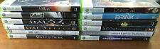 Lot of 12 Xbox 360 Games - Xcom, Halo, Dynasty Warriors, Darksiders - Working