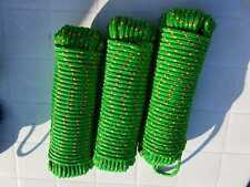 Bootsseil, Bootsleine, Tauwerk, Seil, Fender, Festmacher, grün, 8 mm, 30 Meter