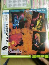 Cinderella - Somebody Save Me - Japan Lp
