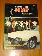 SAINT THE RETURN OF BRITISH ANNUAL 1979 FN-