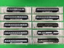 MicroTrains N Gauge NYC Heavyweight Passenger Train – 10-Car Set NIB