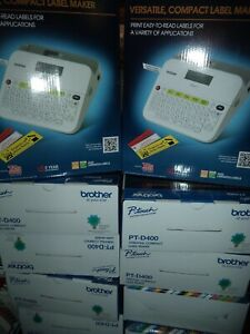 Brother BONUS DEAL 👍 PT-D400 Label Maker FREE EXTRA TAPE BRAND NEW IN THE BOX