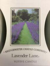 Bridgewater Candle*Lavendel*Lavender Lane*Votivkerze*Kerze*Duftkerze*Rose*Blumig