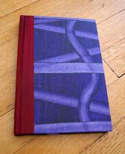 artist book writing journal custom blank book hand made unique creative purple