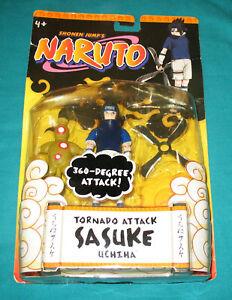 2002  Mattel  Shonen Jump's Naruto Sasuke Uchiha  360 degree attack