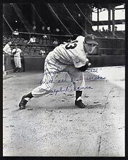 "Ralph Branca Signed Brooklyn Dodgers 8x10 Photo to ""Everything Baseball"" COA"
