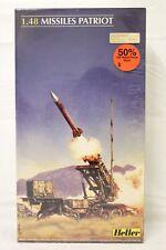 Heller Missiles Patriot 1/48 Scale 81138 Model Kit Factory Sealed