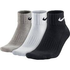 Multicolore 34-38 EU Nike One Quarter Calze in materiale Value Unisex (xly)