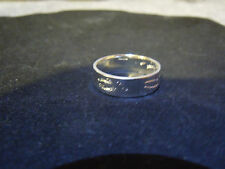 PURE SILVER 999 SZ 9-13 DEER TRACK GOOD LUCK HUNTING RING ANARCHY PM JEWELRY #v9