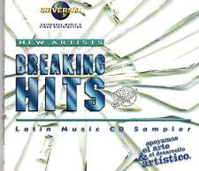 Breaking Hits Latin Music Sampler  POP-TROPICAL- REGIONAL(Digipak)BRAND NEW  CD