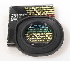 67MM WIDE ANGLE RUBBER LENS HOOD IN ORIG. BOX