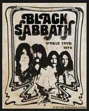 BLACK Sabbath-Patch ricamate-volume 10x7cm