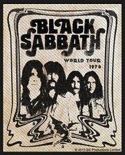 BLACK Sabbath-Patch ricamate-volume 10x7cm