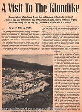 Klondike Visit - Gold Rush Thriller -Family Names-Alstein,Asbhy,Bell,Schiefflins