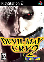 Devil May Cry 2 Sony Playstation 2 PS2 2-Disc Game Complete Black Label!