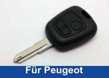 2T Schlüssel Gehäuse Rohling für Peugeot Citroen 106 206 207 306 307 406 806