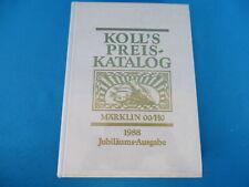 KOLL's Preiskatalog Märklin OO/HO 1988 D.