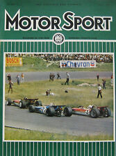 Motor Sport magazine 08/1969 featuring Marcos 3-litre road test
