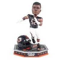 Khalil Mack Chicago Bears Removable Helmet Bobblehead NFL