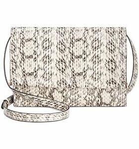 Alfani Women's Mini Toggle Faux Leather Crossbody Bag | Whip Snake/gold