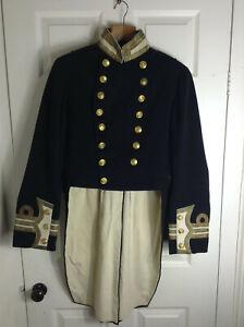 British Royal Navy Naval Officers Tailcoat Uniform Jacket Circa 1920's #97